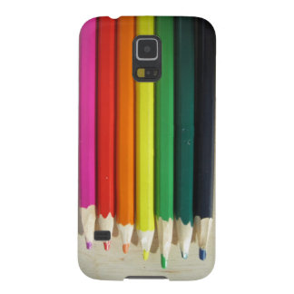 Colored pencils rainbow galaxy s5 cover