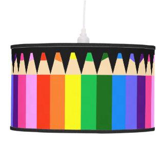 Colored Pencils Too Pendant Lamp