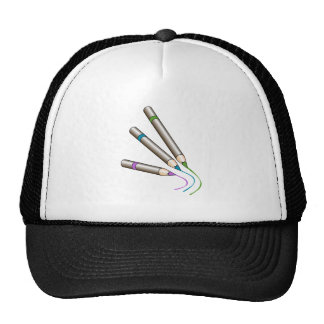 Colored Pencils Writing Trucker Hat