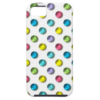 Colored Polka Dot Pearls Case For The iPhone 5