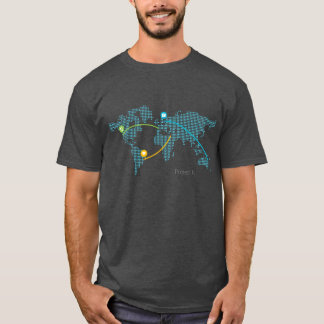 Colored Project Fi - Blue T-Shirt