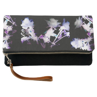 Colored Roses Clutch Bag