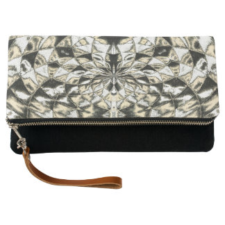 Colored Shapes Clutch Bag