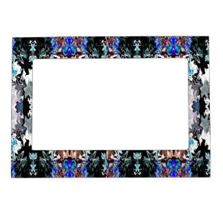 Colored Shapes Magnetic Frame