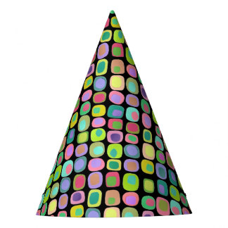 Colored Shapes Party Hat