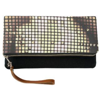Colored Squares Clutch Bag