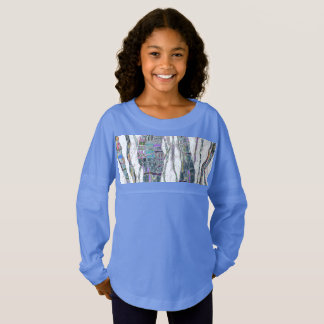 Colored Strands of Life Jersey Shirt