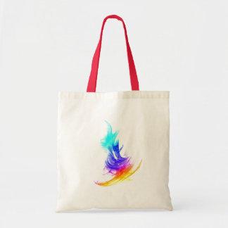 Colored Stroke small Tote Bag