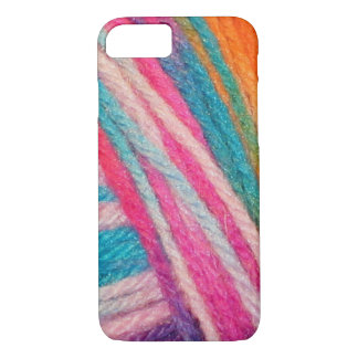 colored threads crochet iPhone 8/7 case