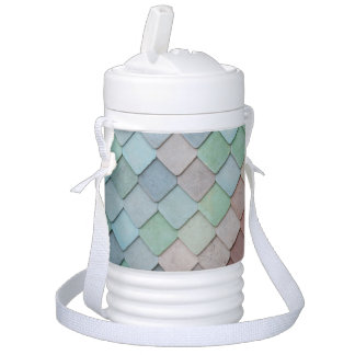 Colored Tiles Drinks Cooler