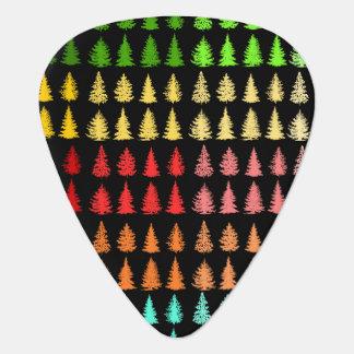 Colored Trees Guitar Picks Guitar Pick