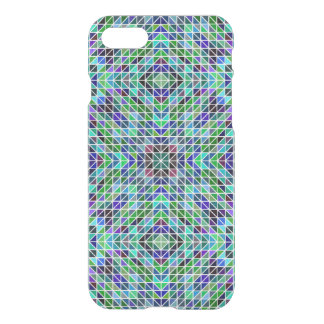 Colored triangle mosaic iPhone 7 case