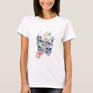 colored vintage skulls T-Shirt