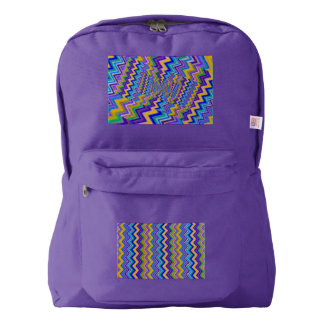 colored vortex on   American Apparel™ Backpack