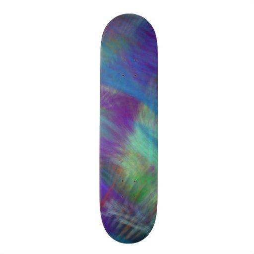Colorez la soirée pyjamas impertinente de fille de plateaux de skateboards customisés