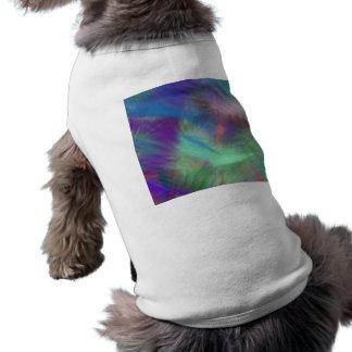 Colorez la soirée pyjamas impertinente de fille de vêtement pour chien