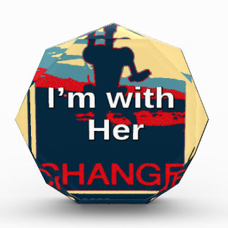 Colorful 2016 I am with her Vote for Hillary USA S