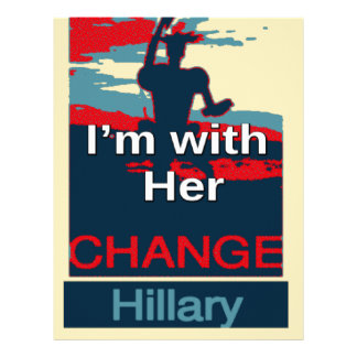 Colorful 2016 I am with her Vote for Hillary USA S Letterhead Design