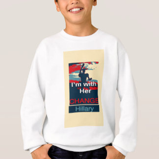 Colorful 2016 I am with her Vote for Hillary USA S Sweatshirt