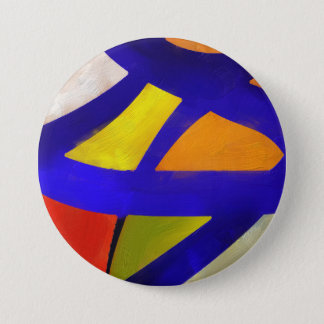colorful 3 inch round button