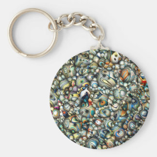 Colorful 3D Abstract Keychain
