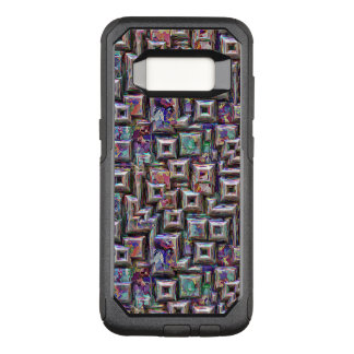 Colorful 3D Abstract Structure OtterBox Commuter Samsung Galaxy S8 Case