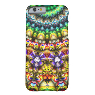 Colorful 3D Abstract Sun Barely There iPhone 6 Case