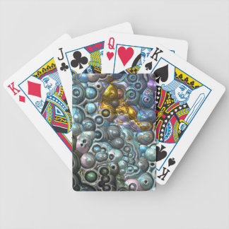 Colorful 3D Clusters Bicycle Playing Cards
