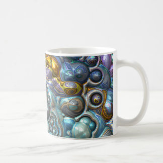 Colorful 3D Clusters Coffee Mug
