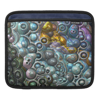 Colorful 3D Clusters iPad Sleeve