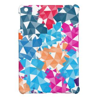 Colorful 3D geometric Shapes iPad Mini Case