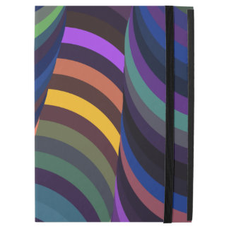 "Colorful 3D Swirls iPad Pro 12.9"" Case"