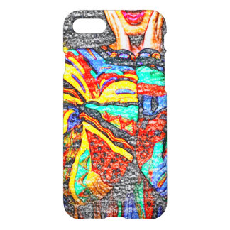 Colorful 90s iPhone 8/7 Glossy Case
