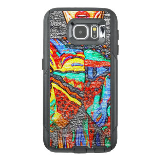 Colorful 90s Samsung Galaxy S6 Otterbox Case