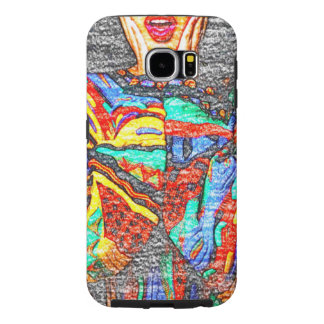 Colorful 90s Samsung Galaxy S6 Phone Case
