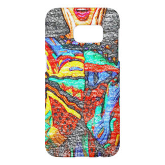 Colorful 90s Samsung Galaxy S7 Phone Case