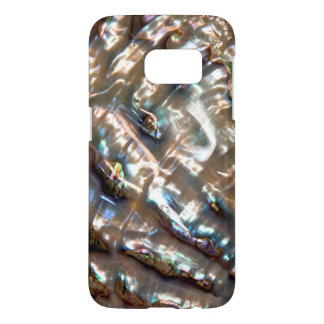 Colorful Abalone  Style Digital Background Samsung Galaxy S7 Case