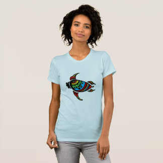 Colorful abs a abstract Turtle T-Shirt