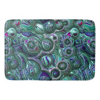 Colorful Abstract 3D Blur Bath Mat