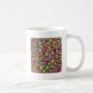 Colorful Abstract 3D Shapes Coffee Mug