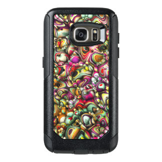 Colorful Abstract 3D Shapes OtterBox Samsung Galaxy S7 Case