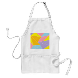 Colorful Abstract Adult Apron