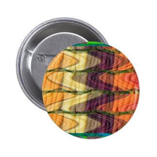 Colorful Abstract art from farm carrot nature love 2 Inch Round Button
