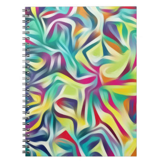 Colorful Abstract Art Notebook