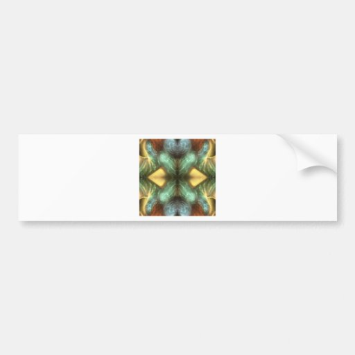 colorful abstract art scene mystical bumper stickers