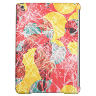 Colorful abstract artwork cover for iPad air