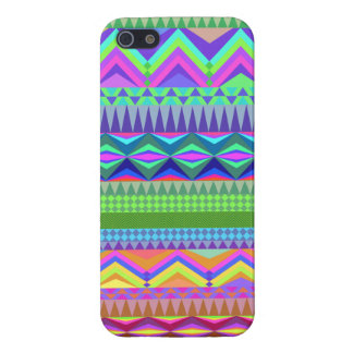 Colorful Abstract Aztec Pattern iPhone 5/5S Cover