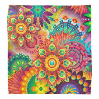 Colorful Abstract Bandanna Modern Art