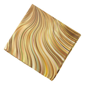 Colorful Abstract Brown Reflective Bandana