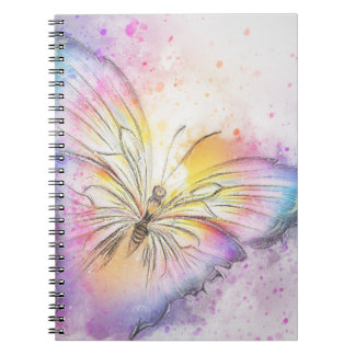 Colorful Abstract Butterfly Notebook